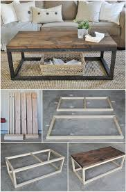 plans to build a diy coffee table
