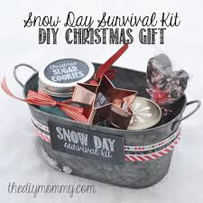 snow day survival kit gift