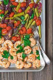 Sheet Pan Baked Shrimp and Veggies ...