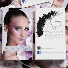 makeup artist looking for business card