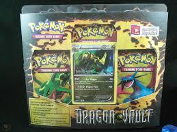 1x Pokemon Black and White Dragon Vault 3 Booster Blister Pack ...
