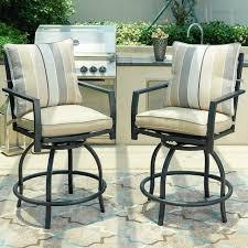 outdoor swivel bar stools