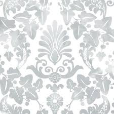 vine damask l and stick wallpaper by