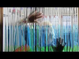 door curtain out of drinking straws