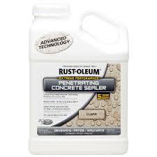 rust oleum 1 gal penetrating concrete