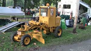extremely rare mini road grader you