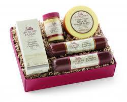 hickory farms beef turkey gift basket
