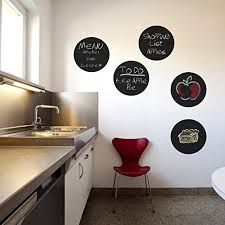 Amazon Com 5 Circle Chalkboard Wall Decals Available In A Variety Of Sizes Handmade