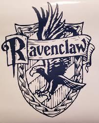 Ravenclaw Crest Vinyl Decal Etsy