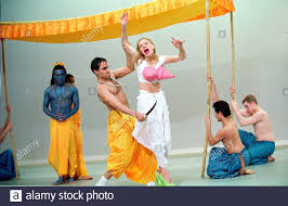 The Ramayana,The Legend of Prince Rama a new version by Peter Oswald . The  Birmingham Rep Theatre production opens at The Olivier Theatre on 11/4/01  pic Geraint Lewis Stock Photo - Alamy
