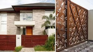 Gate Designs For Modern Minimalist Homes