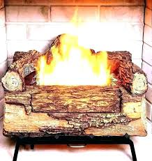 winsome fake fire logs for gas