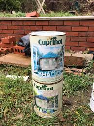 10 Litres Of Natural Stone Shed Fence Paint In Cv34 Warwick For 10 00 For Sale Shpock