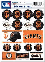 Amazon Com Wincraft Mlb San Francisco Giants Vinyl Sticker Sheet 5 X 7 Sports Fan Sports Stadium Seats And Cushions Sports Outdoors