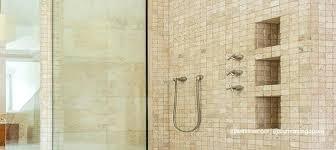 tempered glass shower door shattered