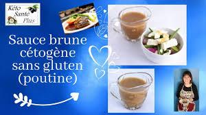 sauce brune keto cétogène lchf