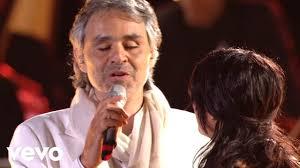 Andrea Bocelli, Laura Pausini - Dare To Live (HD) ft. Laura ...