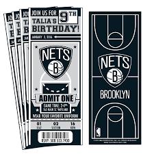 12) Custom Brooklyn Nets Birthday Party ...