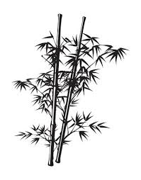 Chinese Bamboo Wall Decal Tree 332 Stickerbrand