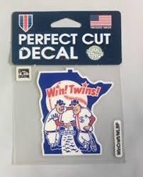 Minnesota Twins 4 X 4 Retro Logo Truck Car Auto Window Die Cut Decal New Color Ebay