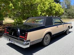 Rare Rides The Double Breasted 1983 Lincoln Continental Mark Vi Bill Blass