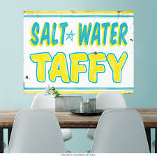 Salt Water Taffy Carnival Wall Decal Rustic At Retro Planet