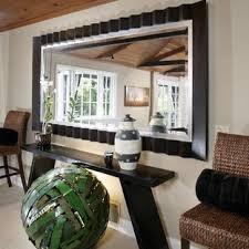 oversized wall mirror houzz