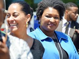 Democratic candidate Stacey Abrams ...