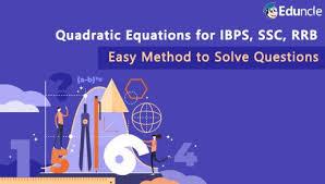 solve quadratic equation questions