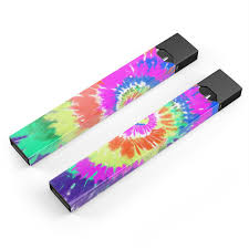 Spiral Tie Dye V1 Premium Skin Wrap Decal For The Pax Juul Etsy
