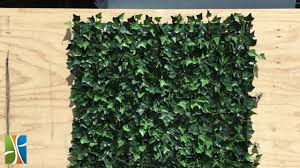 Instant Artificial Ivy Walls Are Super Easy To Install Youtube