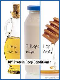 diy protein deep conditioner savvy brown