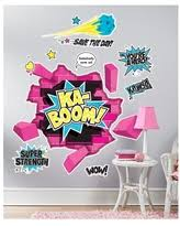 Get Ahold Of Fantastic Deals On Comic Book Set Of 4 Wall Decal Comic Book Bam Pow Boom Wham Superhero