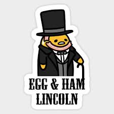 Sanrio Lazy Egg Gudetama Ham Lincoln Vinyl Decal Decor Sticker Laptop Bumper Ebay