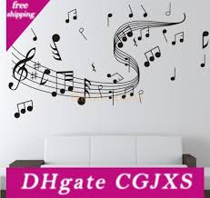 Wholesale Music Wall Decal Buy Cheap In Bulk From China Suppliers With Coupon Dhgate Com