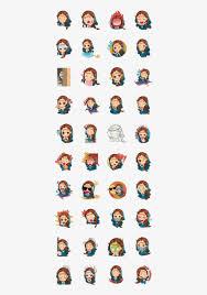 Cute Arabian Princess Sticker Pack Final Fantasy Xiv Line 公式 スタンプ 第 2 弾 420x1121 Png Download Pngkit