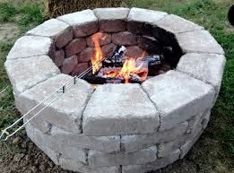fire pit stones came from home depot