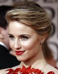 hairstyle ideas for red dresses
