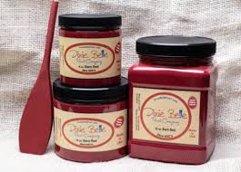 chalk paint colors barn red muscadine