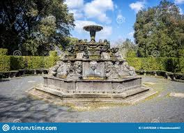 Bagnaia: Villa Lante At Bagnaia Is A Mannerist Garden Of Surprise, Near  Viterbo, Italy Editorial Stock Image - Image of monument, ancient: 134978269