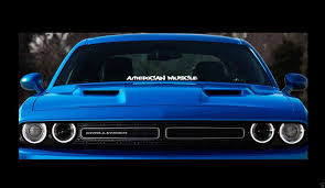 Product Mopar American Muscle 23 Dodge Windshield Banner Sticker Decal Hellcat Srt