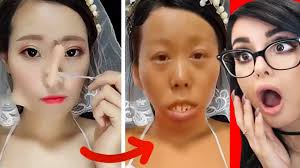 viral asian makeup transformations