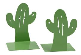Juvale 1 Pair Cute Metal Non Skid Cactus Bookends For Kids Room Library Office Desk Dorm Room School Cactus Decor 3 95 X 3 X 5 45 Inches Office Products Cjp Org In