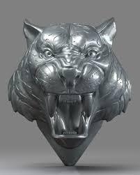 3D printable model tiger Tiger Head 01 ...