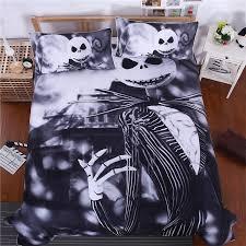 3d sugar skull comforter bedding set