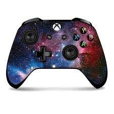Amazon Com Controller Gear Controller Skin Space Starfield Officially Licensed By Xbox One Video Games