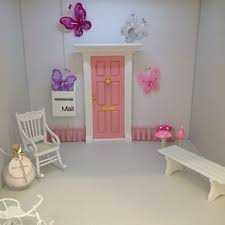 Beautiful Fairy Elf Door Guaranteed To Delight All Our Fairy Doors Come With A Personal Note A Golden Key That O Fairy Doors Girls Room Decor Girl Room