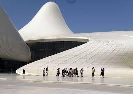 sensuous heydar aliyev cultural center