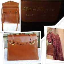 rare uk vintage leather bag