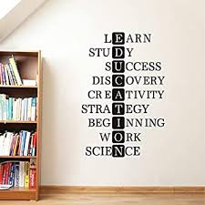 Buy Gadgets wrap Educational Study Motivational Success Quote Wall ...